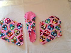 Designed for a young girl with bladder issues, small 8 inch length and tapered for a better fit. Cloth sanitary pads (CSP) from pinkchez.com