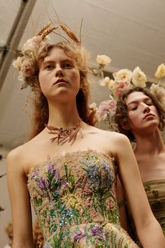 Midsummer night's Dior SS17 haute couture collection.