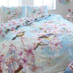Soft Birds dekbedovertrek - www.smulderstextiel.nl - #birds #bloemen #flowers #bloemprint #dekbedovertrek #overtrek #bedding #sheets #dessin #design #lifestyle #bedroom #slaapkamer #interieur #interior