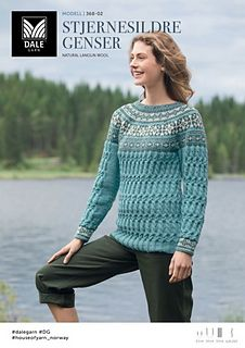 Three color yoked pullover with stranded work for the yoke and cuffs and an all over cable pattern for the body and sleeves. Knitting Patterns Free, Knit Patterns, Free Knitting, Knitwear, Knit Crochet, My Design, Wool, Sleeves, Sweaters