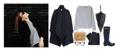 Etude No. 225 by maineinterest on Polyvore featuring Burberry, Paige Denim, Hunter, Loeffler Randall, Jean-Paul Gaultier, Armor-Lux, Moscot and rain