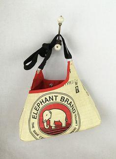 Elephant Triangle Bag