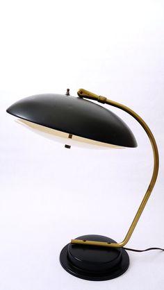 Lightolier Desk Lamp by Gerald Thurstonvia