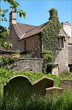 Cottage by the Churchyard, Castle Combe, Cotswolds, England
