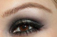 shimmery and smoky eye