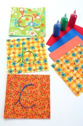 Make Fabric Letters – pk reading