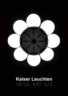Kaiser Leuchten DIY Photo and possible poster design - type: 08700 630 Germany Berlin, Space Age, Vintage Lamps, Diy Photo, Objects, Art Deco, Graphic Design, Lights, Type