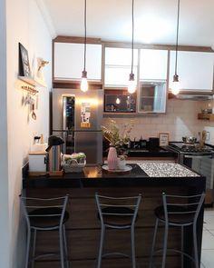 Trendy home bar designs farmhouse Ideas Rustic Kitchen, Kitchen Decor, Minimal House Design, Rustic Loft, Home Bar Designs, Trendy Home, Cuisines Design, Apartment Kitchen, Beautiful Kitchens