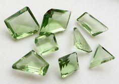 WHOLESALE 10 Pcs Green Crystal Quartz Green by gemsforjewels