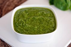 Forget the stuff that comes from the jar. Mel's Kitchen Cafe's classic pesto will quickly become your go-to for sprucing up sandwiches, pasta, and more.Image: Mel's Kitchen Cafe Food Network Recipes, Food Processor Recipes, Cooking Recipes, Healthy Recipes, Vinaigrette, How To Make Pesto, Good Food, Yummy Food, Recipes