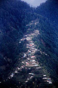 Nathia Gali, Pakistan. Nathia Gali is a mountain resort town or hill station in Hazara, Khyber Pakhtunkhwa, Pakistan. (V)