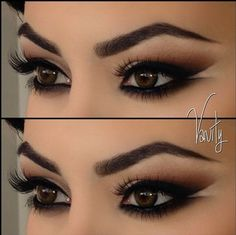 Cool outer corners of the eyes