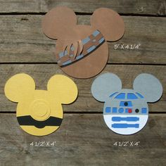 Disney Scrapbook Page Embellishments Star Wars by ScrapWithMeToo