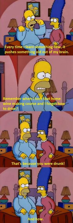 "From ""Secrets of a Successful Marriage"": 29 Homer Simpson Quotes Guaranteed To Make You Laugh Every Time Simpsons Funny, Simpsons Quotes, The Simpsons, Haha Funny, Funny Cute, Funny Jokes, Hilarious, Funny Stuff, Funny Things"