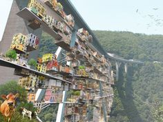 Parasitic City Takes Root on Italian Bridges | Inhabitat - Sustainable Design Innovation, Eco Architecture, Green Building