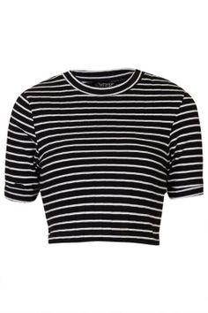 e9ac8759fcbb4e Open A-Back Long Sleeve Crop Top Black (€14) ❤ liked on Polyvore ...