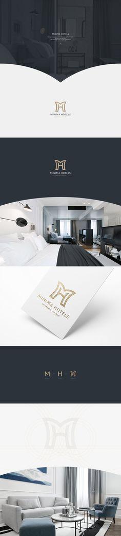 Minima Hotels logo on Behance