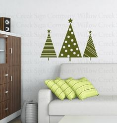 Holiday Vinyl Wall Decor