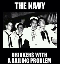 Drinkers with a sailing problem.