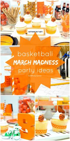 March Madness Basketball Birthday Party Ideas!