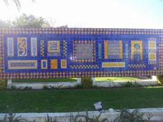 Manuel Cargaleiro | Fogueteiro | Escola Secundária Manuel Cargaleiro / Manuel Cargaleiro High School | 2000 #Azulejo #ManuelCargaleiro