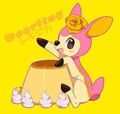 pokemon cake - deerling