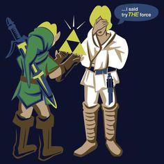 Star Wars & The Legend of Zelda Mashup T-Shirt