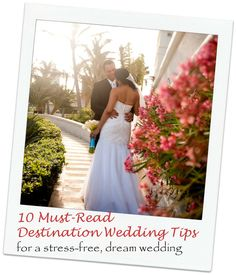 If you just got engaged, this list of 10 destination wedding tips & ideas is a must-read!