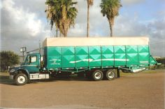 Image result for cotton module truck