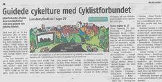 Jeg søgte  og fik på vegne af Cyklistforbundet Landdistriktudvalget om penge til at arrangere cykelture ud fra fem landsbyer i uge 27 2020. Event Ticket