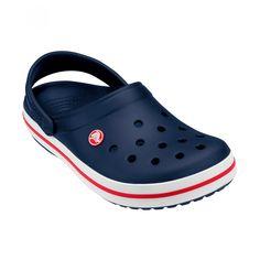 Crocs Crocband, Crocs Shoes, Crocs Fashion, Toddler Crocs, Navy Sandals, Colorful Shoes, Dream Shoes, Color Azul, Blue Shoes