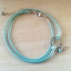 Turquoise Anklet  Evil Eye Anklet  Womens Ankle by DesignsbyNoa