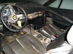 One Of The Many Abandoned Supercars In Dubai Ferrari Enzo Cars