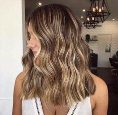 Brown Hair With Blonde Balayage, Balayage Hair, Highlights For Brown Hair, Summer Highlights, Balayage Highlights, Brunette With Blonde Highlights, Bronde Haircolor, Blonde Honey, Warm Blonde