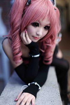 Anime cosplay Shiki (Megumi)