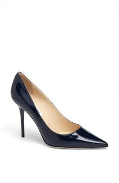 #Jimmy Choo 'Abel' Patent Leather Pump
