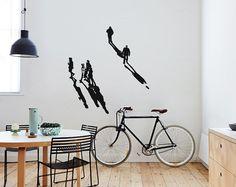 SCHATTEN II BERLIN Serie  Wall Art Wandtattoo von UrbanARTBerlin