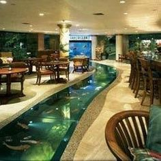 Floor Aquarium. Crustacean Restaurant 464 N Bedford Dr Beverly Hills, CA 90210 (310) 205-8990