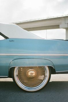 vintage Chevrolet Caprice with spokes hubcaps