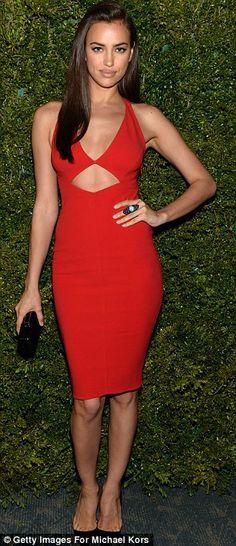 Irina Shayk + dress