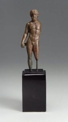 Bronze statue of Zeus 8.5cm high (3 3/8 inch) Roman, Imperial Period, 1st-2nd century AD Finding location and date: unknown Source: Museum of Fine Arts, Boston