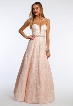 Floral Sequin Prom D