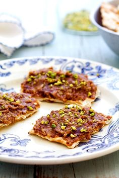 Recipe: Medjool Date and Apple Charoset — Passover- represents the mortar used by the Israelites when they were slaves, to build for the Egyptians.  This is YUMMY!