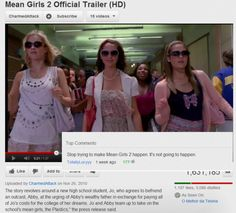 Stop trying to make Mean Girls 2 happen. It's not going to happen