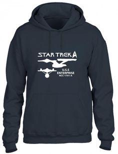 star trek uss enterprise ncc 1701a funny Hoodie