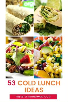 Are you tired of eating the same lunch day after day? These 53 Cold Lunch Ideas for Adults will inspire you to try several new, delicious recipes. You'll find cold pasta salad recipes, wraps, sandwiches, Mason jar salads, and more! Whether you are packing a lunch for work or making lunch at home give these recipes a try! #coldpastasaladrecipes #coldlunchideasforadults #coldlunchideasforwork #coldlunchideasformen