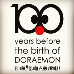 100 years before the birth of Doraemon - @encandy- #webstagram