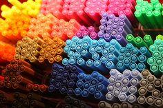 Stabilo pens in Marburg Germany.
