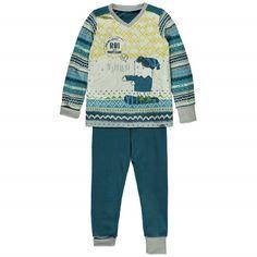 The Black Weekend Two-Piece Adjustable Pajamas Multi Blue / Pyjama deux pièces évolutif Souris Mini