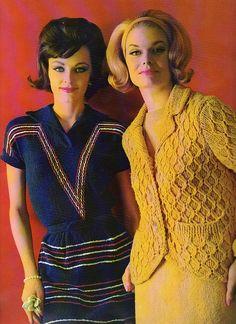 Boulevard Fashions by Bernat 1962...inspiration